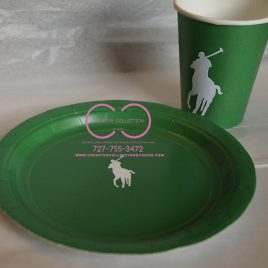 Horsemen Inspired plates (Set of 10)