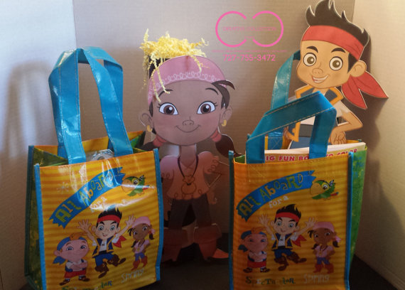 Jake and the Neverland Pirates Gift Bags 1