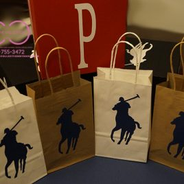 Horsemen Style Gift Bags  (Sold In Sets)