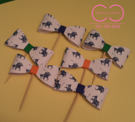 CupCake Toppers Bowties