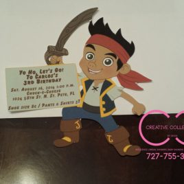 Jake and the Neverland Pirates Invitation (sold in sets)