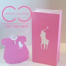 Horsemen Dress Favor Box (sold in sets)