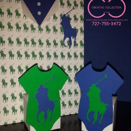 Horsemen Onesie Favor Box (sold in sets)