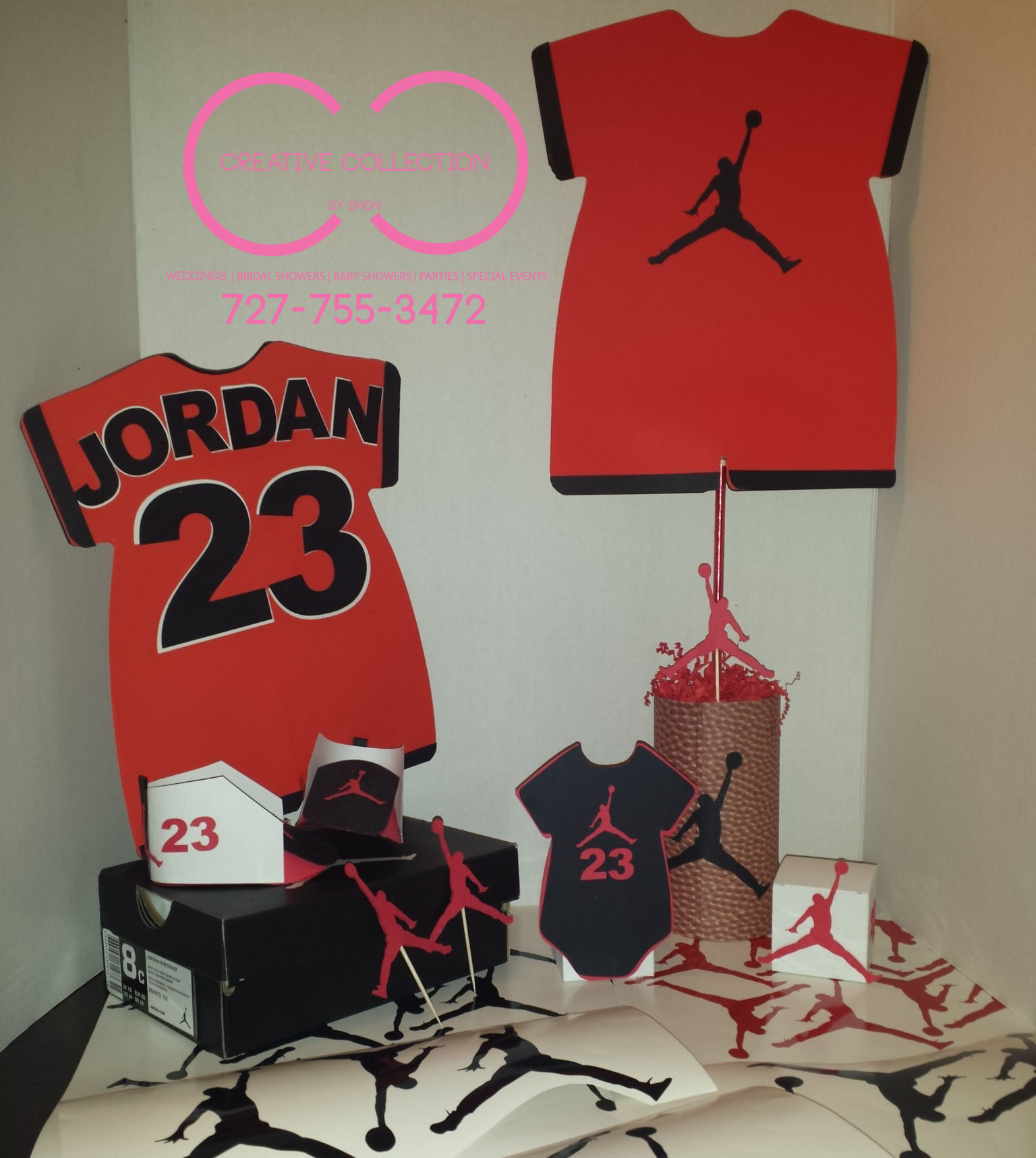 Jumpman Inspired Party Package Creative Collection By Shon