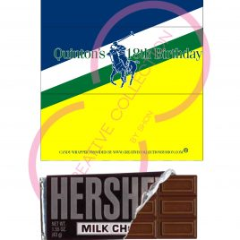 Horseman Large Candy Bars Wrappers (Customized Printable)
