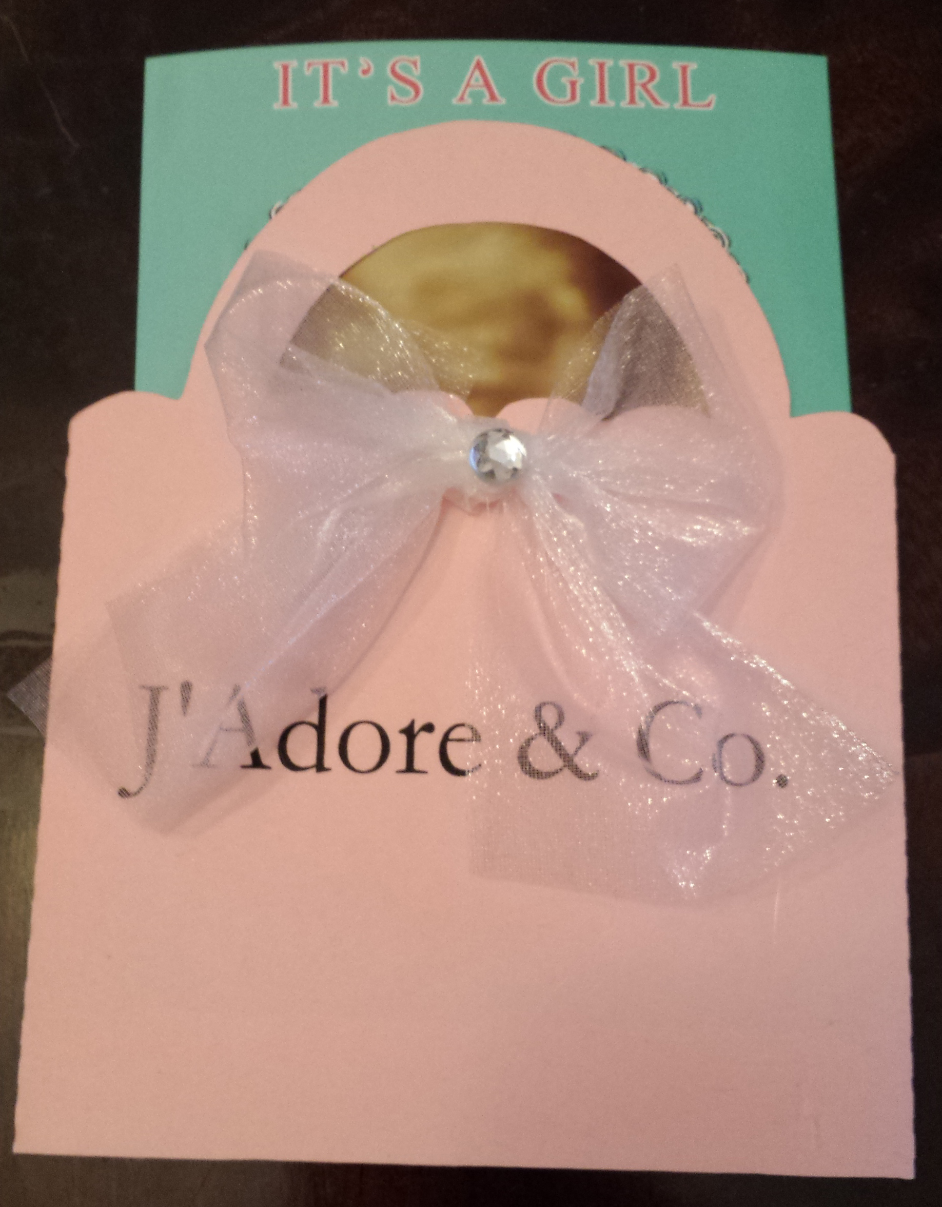 Tiffany Inspired Baby Shower Purse Invitation (sold in sets ...