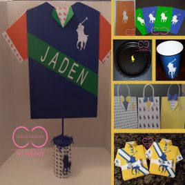 Horsemen Party Package (Include: Invitation,Plates,Cups, Gift Bag and Centerpiece)