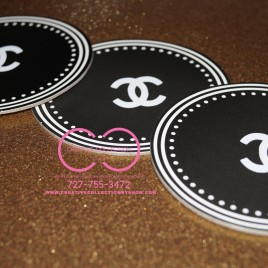 Parisian Coasters (sold in sets of ten)
