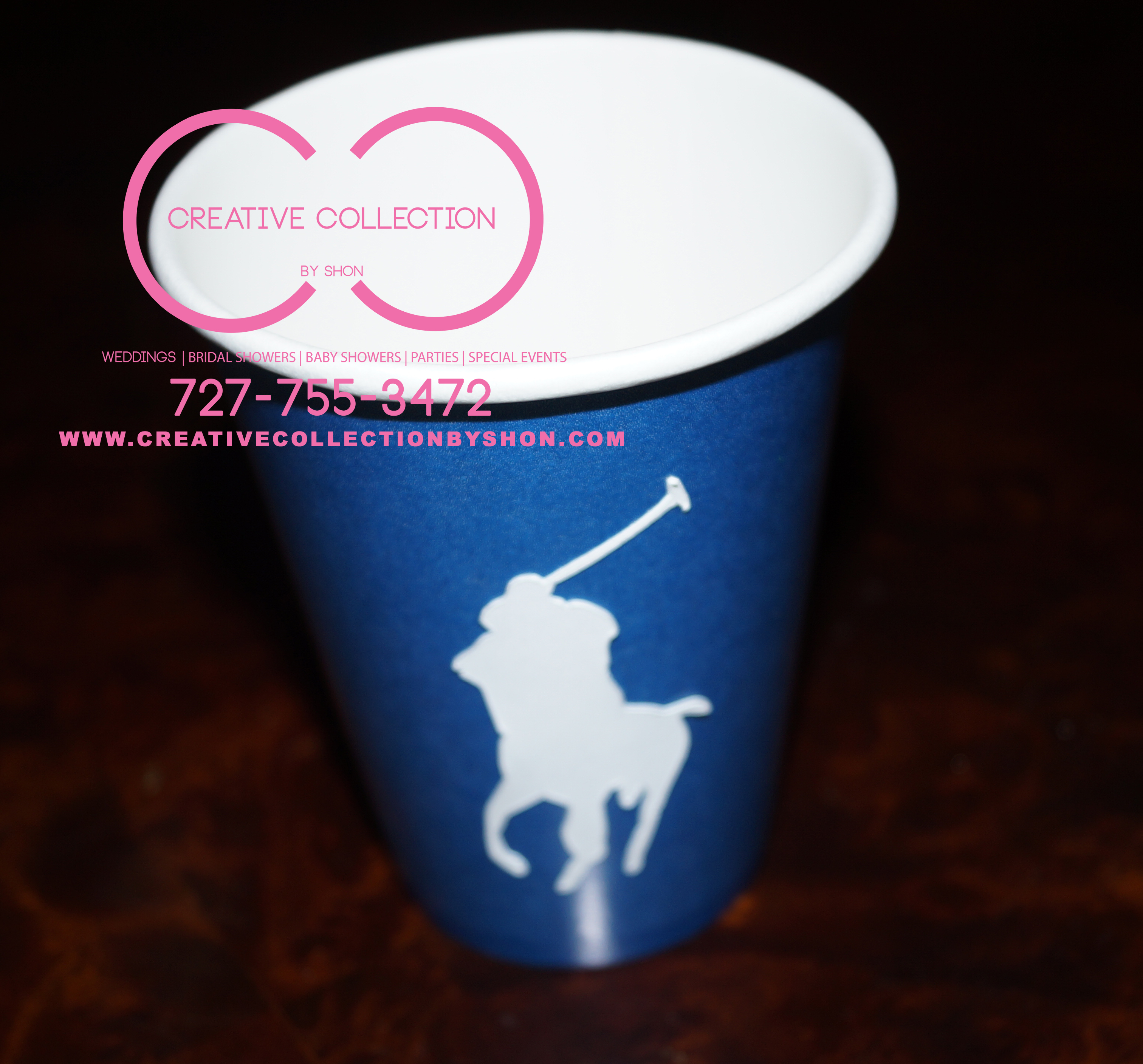 0341ca0104f9 The Ultimate Polo Package (Include  Plates and Cups