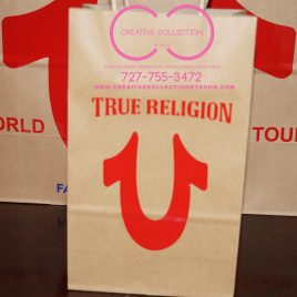 True Religion Gift Bag