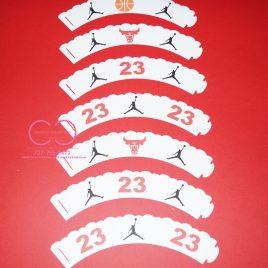 Jumpman Cupcake Wrappers