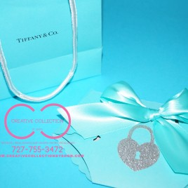 Tiffany Inspired Baby Shower Diaper Invitation (sold in sets)