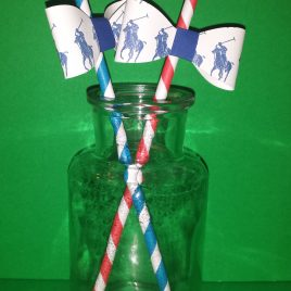 Polo Inspired Straws