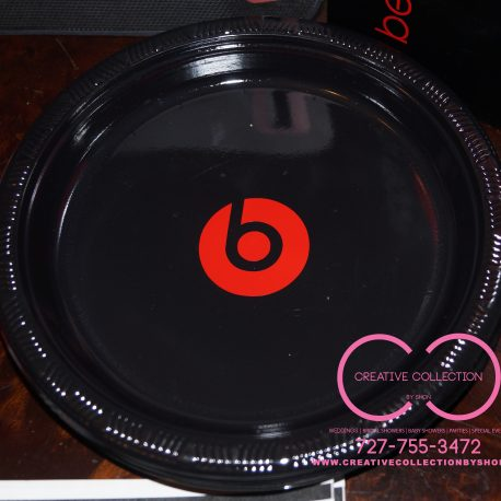 Beats By Dre Inspired Plates