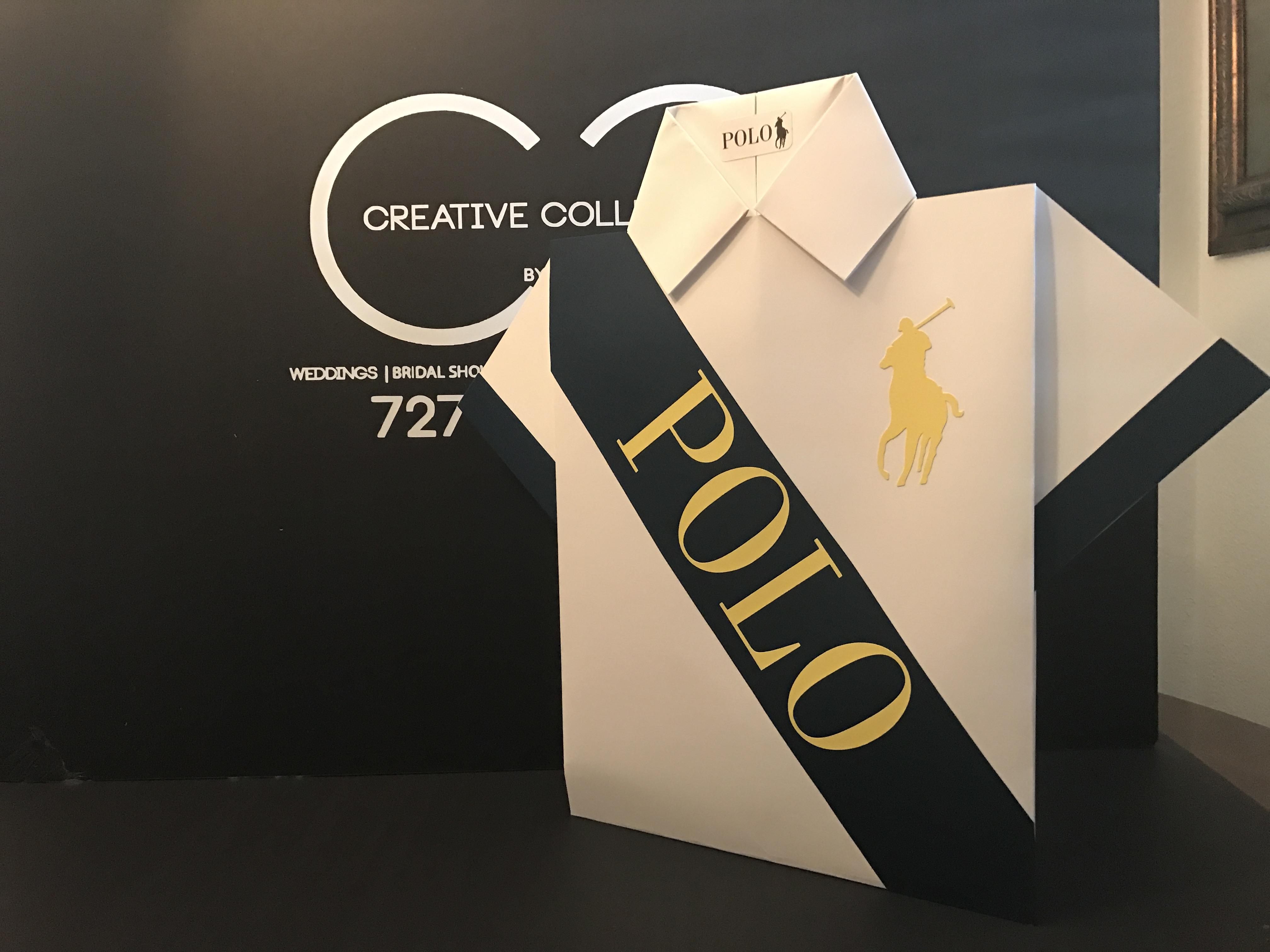 Polo Shirt Centerpiece