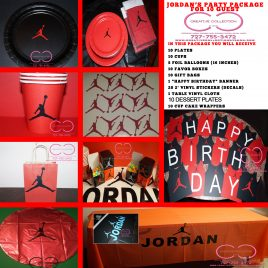 "Jumpman ""Jordan"" Party Package"