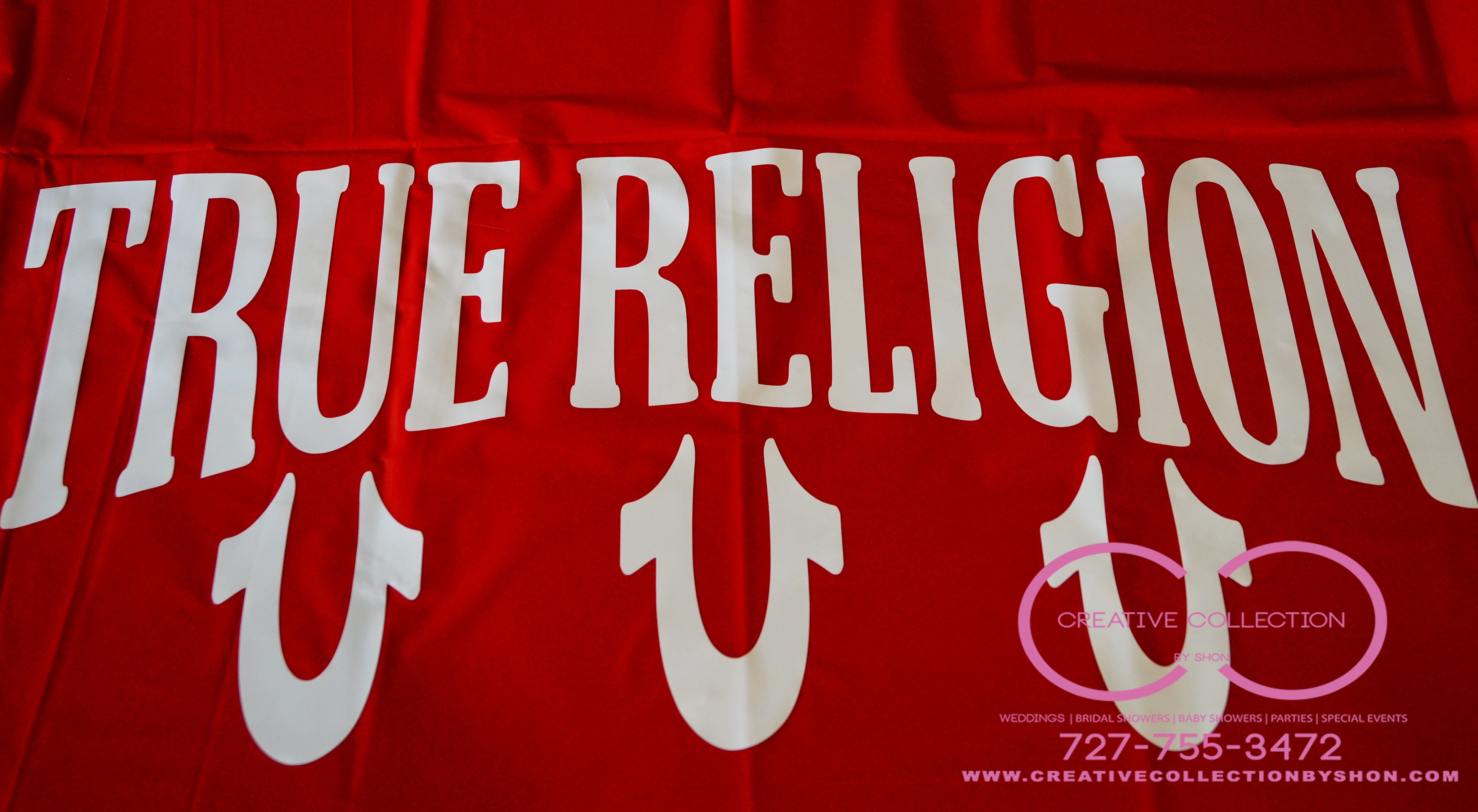 True Religion Inspired Table Cloths