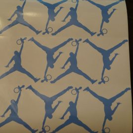 "Jumpman ""Baby Pacifier"" Decals A Set Of 10 Decals"