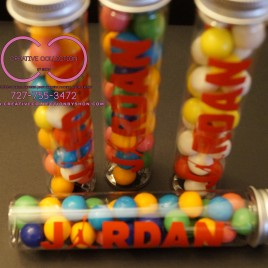 "Jumpman ""Jordan"" Theme Empty Candy Tubes"