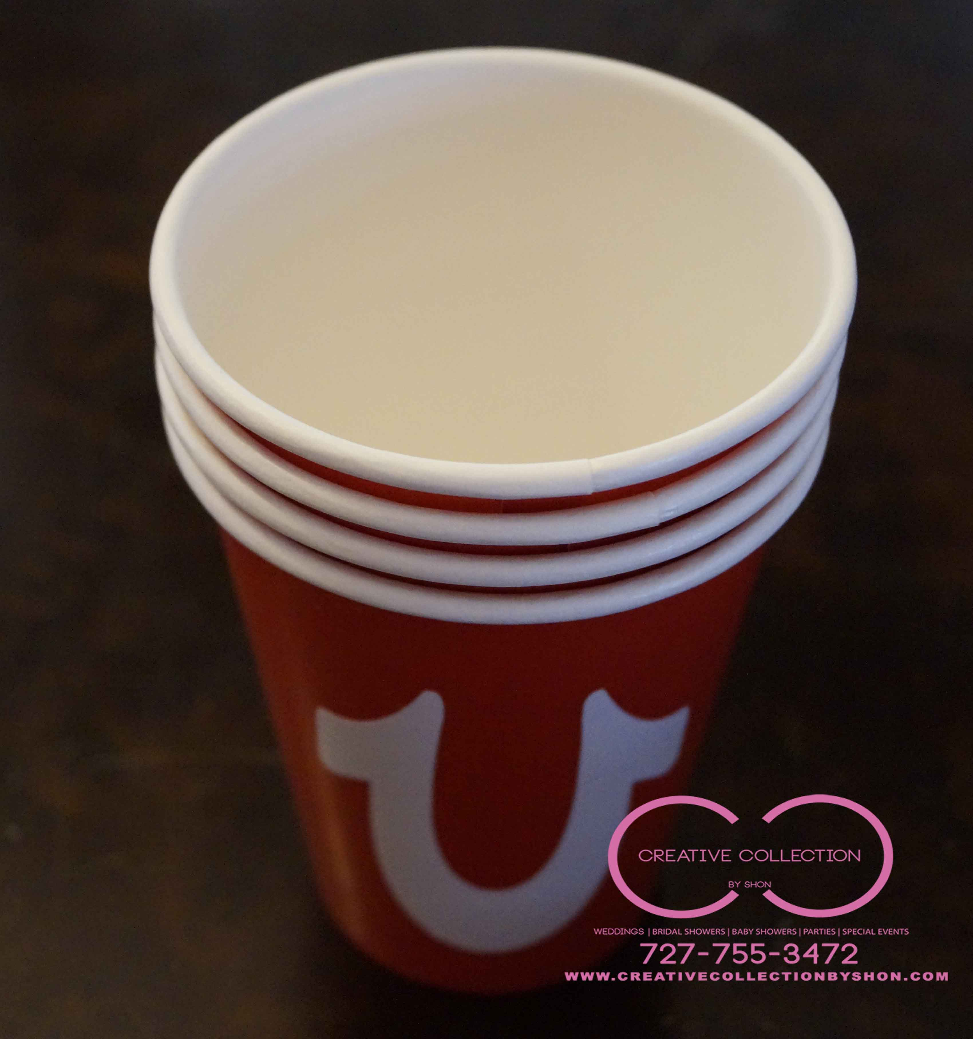 True Religion Inspired Party Cups