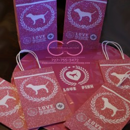 Love Pink Inspired Gift Bags
