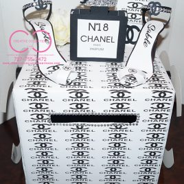 Chanel Inspired Letter Box