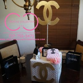 Chanel Inspired Centerpiece