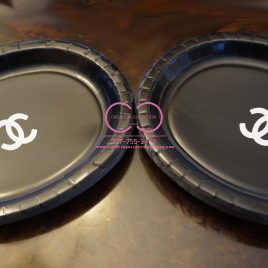 "Parisian ""Chanel"" Inspired Plates"